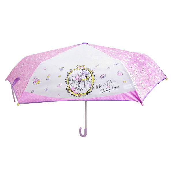 ミッキーマウス & デイジーダック 折畳傘 折りたたみ傘 かさ 53cm ディズニー 雨具 新生活 プレゼント