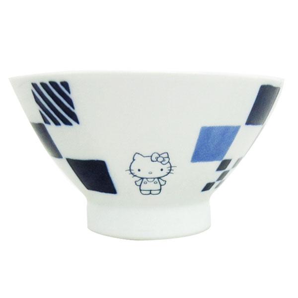 ハローキティ くらわんか茶碗 お椀 食器 市松 波佐見焼き 日本製 キッチン用品 ORKT