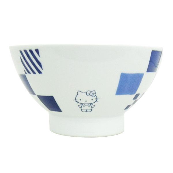 ハローキティ ヒメバチ お椀 鉢 食器 市松 くらわんか 波佐見焼き 日本製 キッチン用品 ORKT