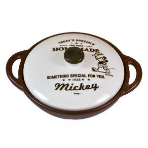 ミッキーマウス 両手グリルパン フライパン 耐熱陶器 ...