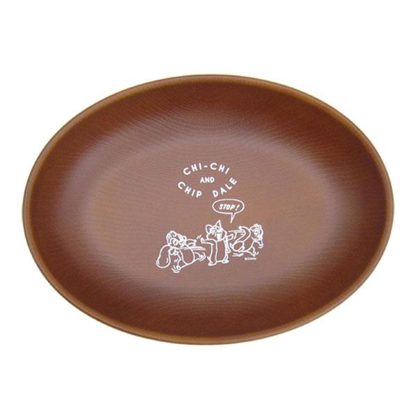 チップとデール オーバルプレート お皿 食器 A チップ&デール ディズニー 日本製 キッチン用品