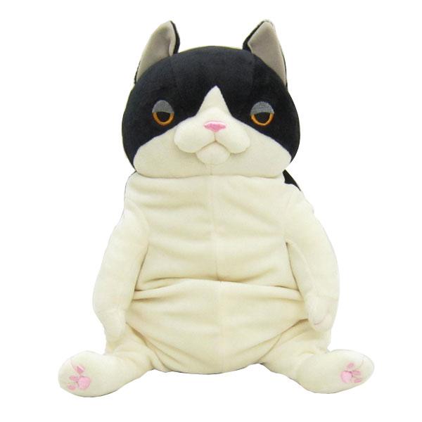 もちねこ ネコ 猫 ぬいぐるみ L ハチワレ 新生活 プレゼント