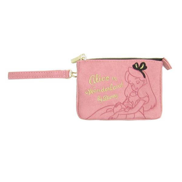アリス リール付デイリーポーチ 定期入れ 小物入れ ピンク ティータイム ふしぎの国のアリス ディズニー ORHA 新生活 プレゼント