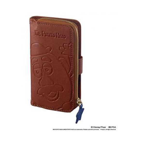 アイフォンケース iPhone7 ディズニー ミスター・ポテトヘッド アイコインダイアリーカバー 手帳型 4.7インチ専用 トイ・ストーリー モバイル用品 新生活 プレゼント