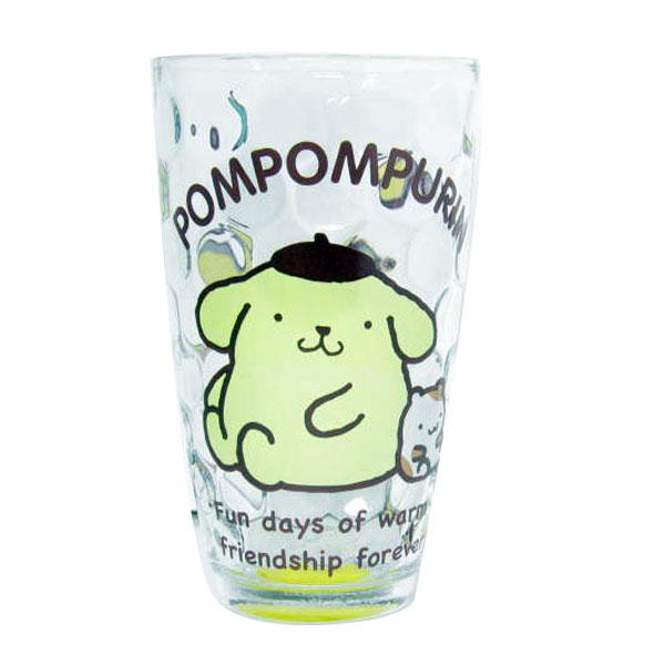ポムポムプリン ドットグラス グラス コップ 新生活 プレゼント
