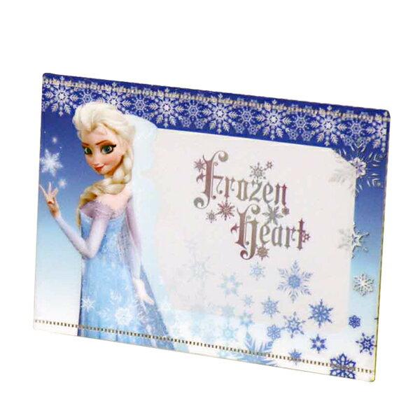 ディズニープリンセス ポケットフレーム (写真立て) 青 エルサ ディズニー (アナと雪の女王) 新生活 プレゼント