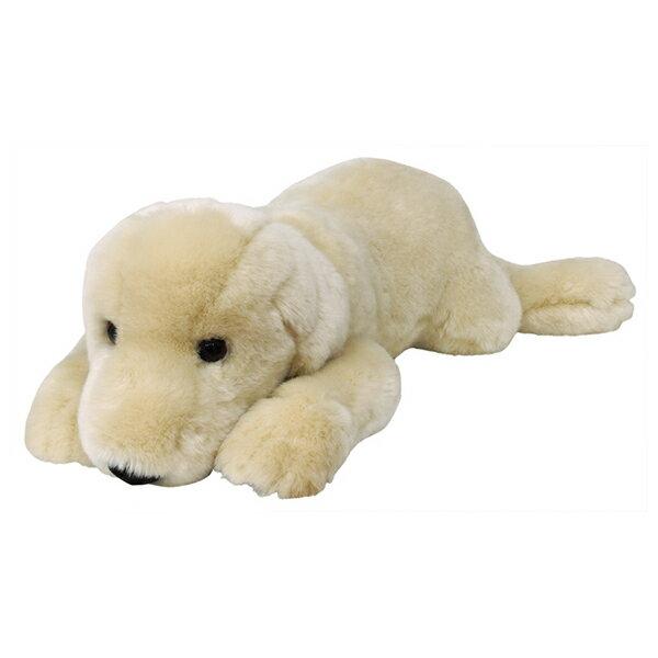 ぬいぐるみ 犬 ラブラドールレトリバー ホワイト Lサイズ 取寄品 3週間前後 新生活 プレゼント