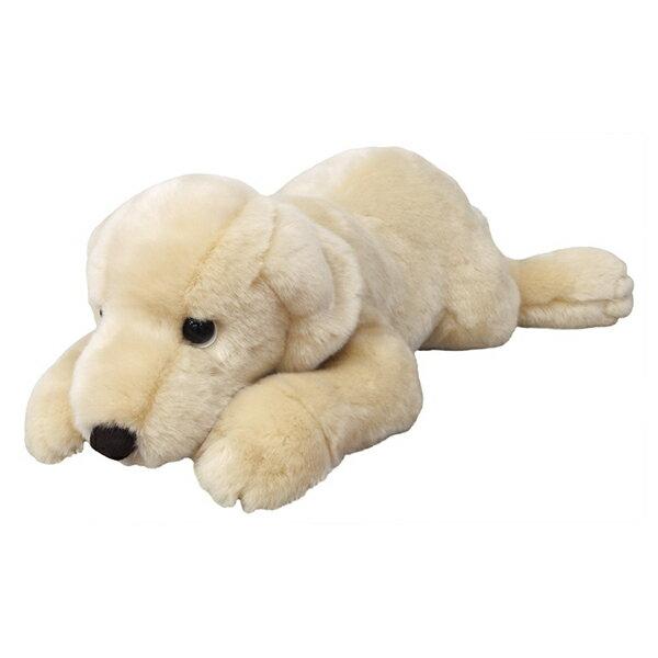 ぬいぐるみ 犬 ラブラドールレトリバー ホワイト Mサイズ 取寄品 3週間前後 新生活 プレゼント