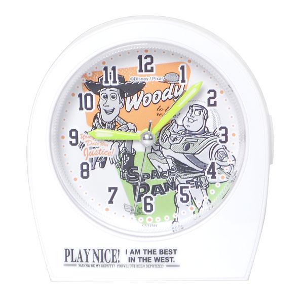 店内全商品対象 限定クーポン 配布中 2018/9/21 20:00~9/26 1:59まで ウッディ & バズ・ライトイヤー アラームクロック 時計 腕時計 トイ・ストーリー ディズニー