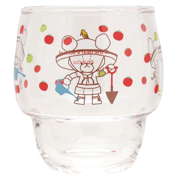ジャッキー グラス コップ ジャッキーのトマト作り くまのがっこう 新生活 プレゼント