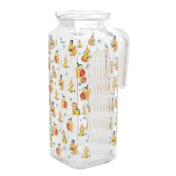 ムーミン 50's ヴィンテージ ガラスポット ピッチャー・冷水筒 スクール キッチン用品 新生活 プレゼント