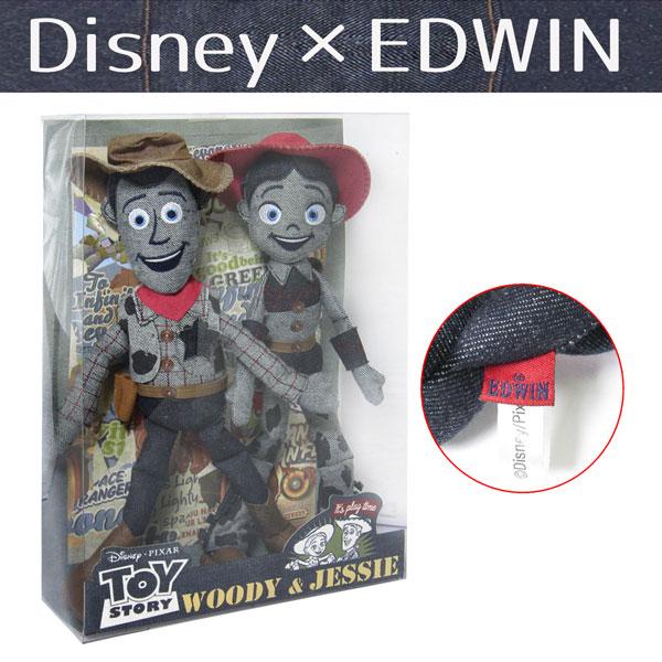 ウッディ 人形 ジェシー ウッディ&ジェシー デニムぬいぐるみBOXセット 新生活 プレゼント