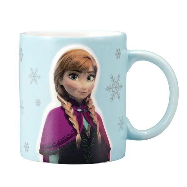 立体マグカップ マグ アナ アナと雪の女王 ディズニー 取寄品 3週間前後 新生活 プレゼント
