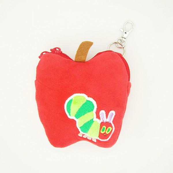 はらぺこあおむし ミニポーチ キーホルダー付 小物入れ リンゴ 新生活 プレゼント