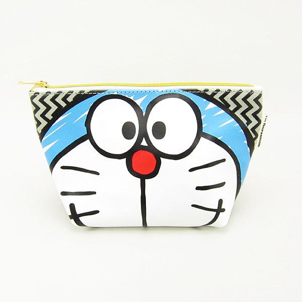 ドラえもん ポーチ 小物入れ グレー カオ I'm Doraemon 新生活 プレゼント
