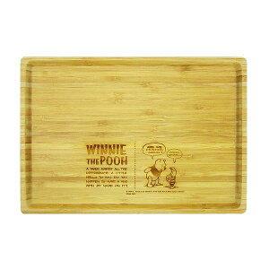 プーさん キャプテンスタッグ 竹製角型プレート お皿 L ディズニー くまのプーさん キッチン用品