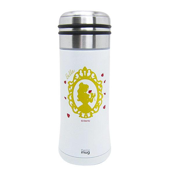 ベル スマートボトル 水筒 350ml ホワイト 美女と野獣 ディズニープリンセス ランチ用品 新生活 プレゼント