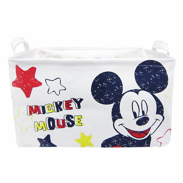 10%オフ全商品やってます ~4/22 ミッキーマウス キャンバスストレージ 収納ボックス 収納ケース L ディズニー インテリア用品 新生活 プレゼント