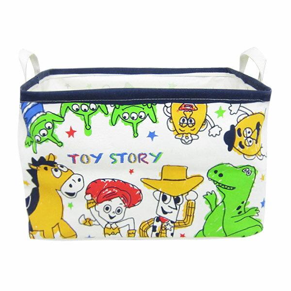 10%オフ全商品やってます ~4/22 トイ・ストーリー キャンバスストレージ 収納ボックス 収納ケース L ディズニー インテリア用品 新生活 プレゼント