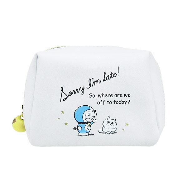 ドラえもん ミニミニポーチ 小物入れ グレー I'm Doraemon ORDR 新生活 プレゼント