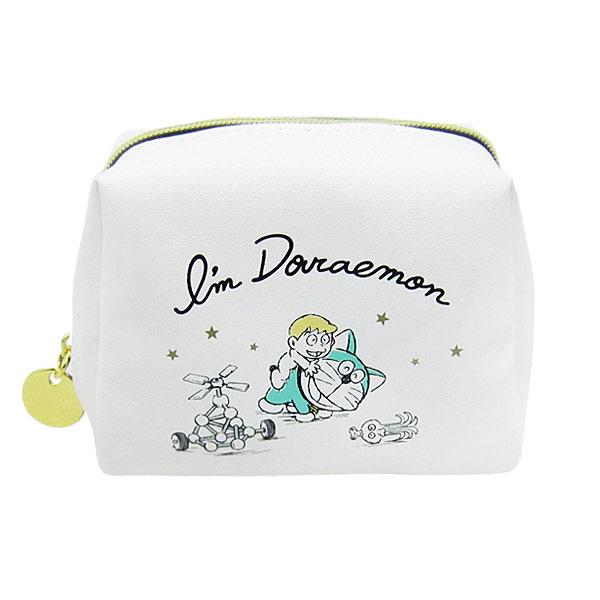 ドラえもん ミニミニポーチ 小物入れ アイボリー I'm Doraemon ORDR 新生活 プレゼント