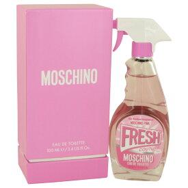 【送料無料】Moschino Pink Fresh Couture Moschino EDT Spray 3.4 oz / 100 ml [F]【楽天海外直送】