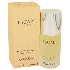 【送料無料】ESCAPE by Calvin Klein Eau De Toilette Spray 1.7 oz / 50 ml [Men]【楽天海外直送】