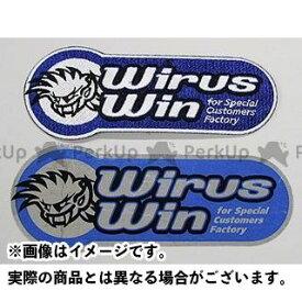 ウイルズウィン WirusWin ステッカー オリジナルワッペン