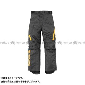 YeLLOW CORN パンツ YP-8330 オーバーパンツ(ブラック/イエロー) L イエローコーン