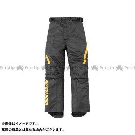 YeLLOW CORN パンツ YP-8330 オーバーパンツ(ブラック/イエロー) LW イエローコーン