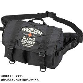 YeLLOW CORN ツーリング用バッグ YE-51 ヒップバッグ(ブラック) イエローコーン