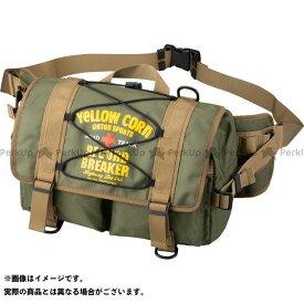 YeLLOW CORN ツーリング用バッグ YE-51 ヒップバッグ(カーキ) イエローコーン