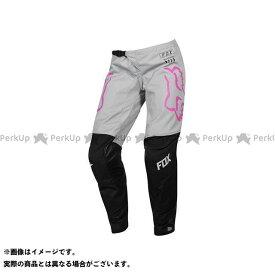 【無料雑誌付き】FOX モトクロス用品 MX19 ウーマンズ 180 パンツ マタ(ブラック/ピンク) サイズ:8 フォックス