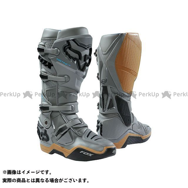 【エントリーでポイント10倍】送料無料 FOX フォックス オフロードブーツ インスティンクト ブーツ A1 Limited Edition(ストーン) 10/27.0cm