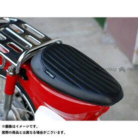 KEPSPEED スーパーカブ50 シート関連パーツ カブ用 縦ライン カスタム シングルシート(ブラック) ケップスピード