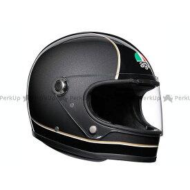 エージーブイ フルフェイスヘルメット X3000 006-SUPER BLACK/GREY/YELLOW XL 送料無料 AGV