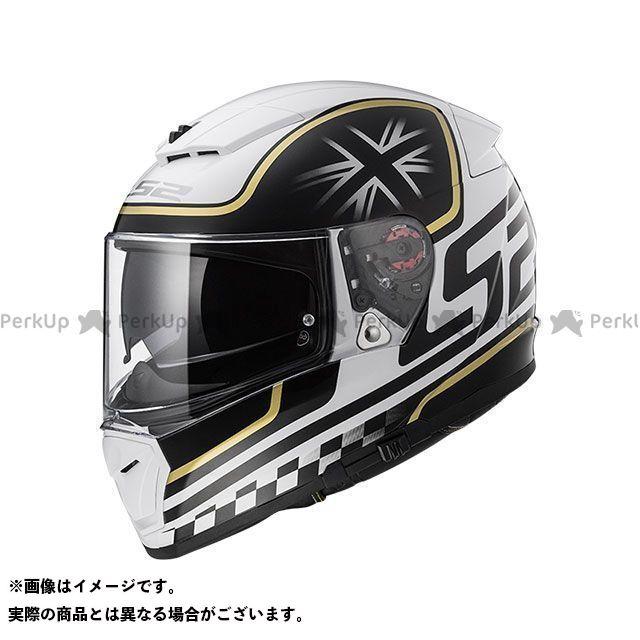 【エントリーでポイント10倍】送料無料 LS2 HELMETS エルエスツー フルフェイスヘルメット BREAKER(ホワイトブラック) M