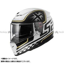 エルエスツー フルフェイスヘルメット BREAKER(ホワイトブラック) L LS2 HELMETS