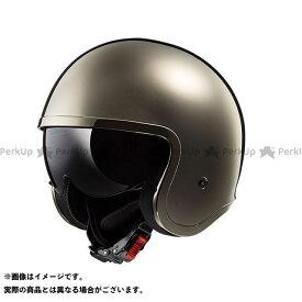 【ポイント最大18倍】LS2 HELMETS ジェットヘルメット SPITFIRE(クローム) サイズ:L エルエスツーヘルメット