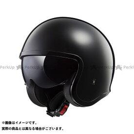 【無料雑誌付き】LS2 HELMETS ジェットヘルメット SPITFIRE(ブラック) サイズ:S エルエスツーヘルメット