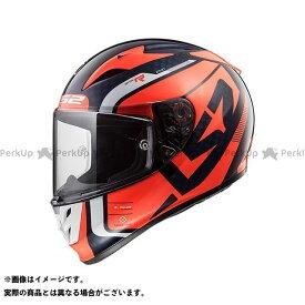 エルエスツー フルフェイスヘルメット ARROW C EVO(ブルーフルーオレンジ) サイズ:L LS2 HELMETS