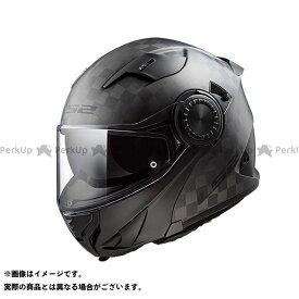 【ポイント最大19倍】LS2 HELMETS システムヘルメット(フリップアップ) VORTEX(カーボン) サイズ:M エルエスツーヘルメット