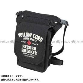 YeLLOW CORN ツーリング用バッグ YE-53 レッグバッグ(ブラック) イエローコーン