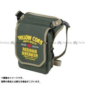 YeLLOW CORN ツーリング用バッグ YE-53 レッグバッグ(カーキ) イエローコーン