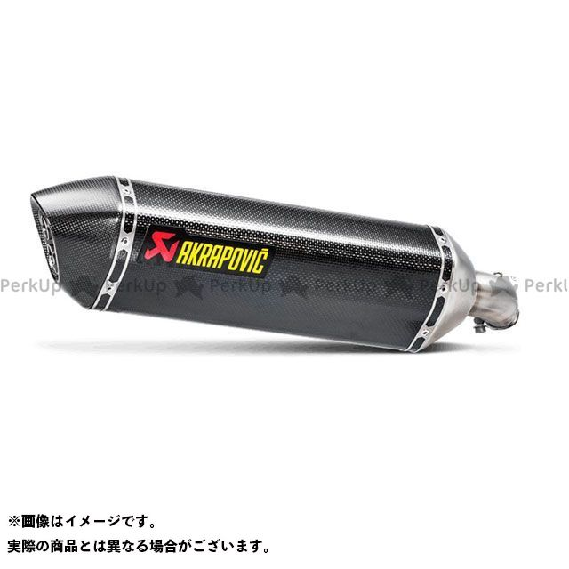 【エントリーでポイント10倍】送料無料 アクラポビッチ SV650 SV650X マフラー本体 スリップオンマフラー(ヘキサゴナルカーボン)