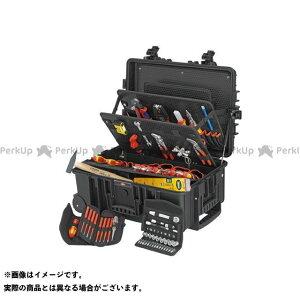 【エントリーで最大P19倍】KNIPEX 電動工具 002137 電気技師用ツールセット 63PCE クニペックス