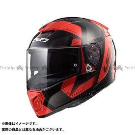 【無料雑誌付き】LS2 HELMETS フルフェイスヘルメット アウトレット品 BREAKER(ブラックレッド) サイズ:XXL エルエスツーヘルメット