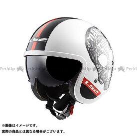 エルエスツー ジェットヘルメット アウトレット品 SPITFIRE(ホワイトブラック) XL LS2 HELMETS