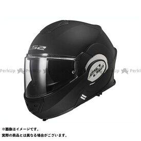 【無料雑誌付き】LS2 HELMETS システムヘルメット(フリップアップ) 【先着特典付き】VALIANT(マットブラック) サイズ:XXL エルエスツーヘルメット