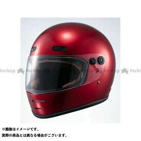 【エントリーで最大P19倍】【特価品】Marushin フルフェイスヘルメット ネオレトロスタイル フルフェイス MNF1 END MILL(エンドミル) キャンディーレッド サイズ:XL マルシン
